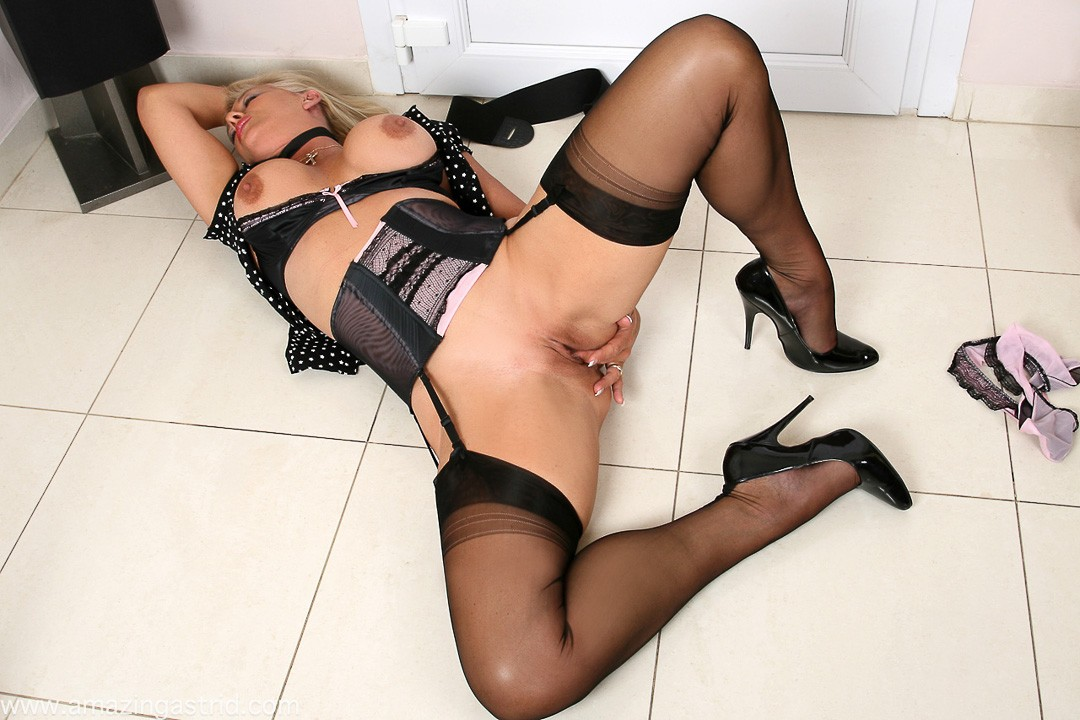 Nylons stockings videos