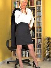 Sexy secretary Amazing Astrid images