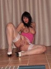German blonde stockings sex - Nylon Angel Lovette