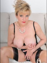 Gill Ellis Young pictures – Busty Mature in lingerie