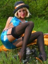 Lily Wow videos - Stockings & Pantyhose tease