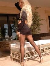 Saskia in pantyhose - Saskias Nylon Leg Show
