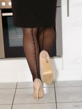 Jess Legs pictures gallery - Wolford pantyhose