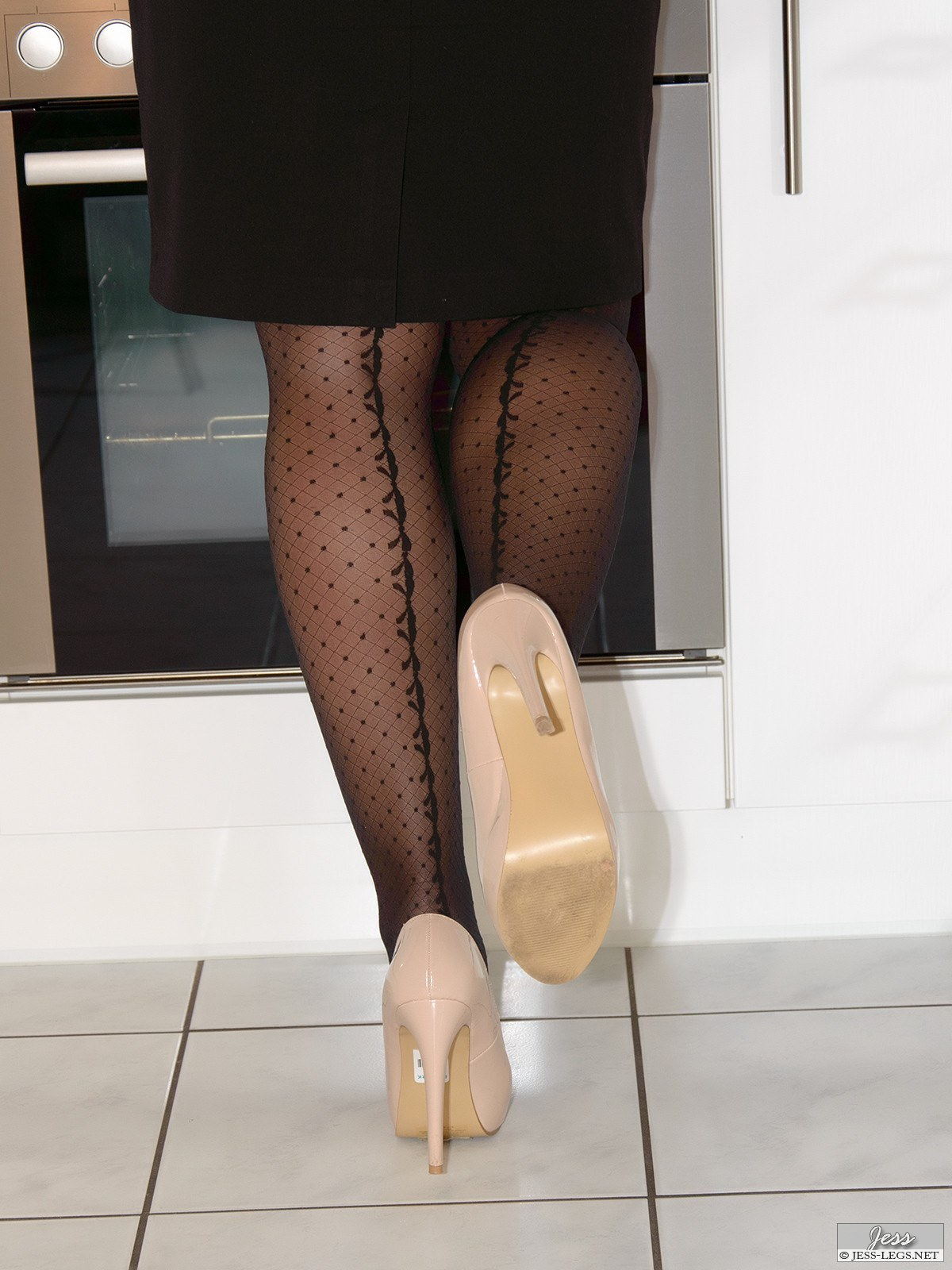 Jess Legs pictures gallery – Wolford pantyhose