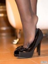 Silk stockings pics from Jess-Legs.net site