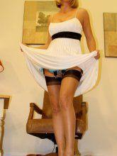Pattern pantyhose pics - Naughty at Home - Desirae Spencer