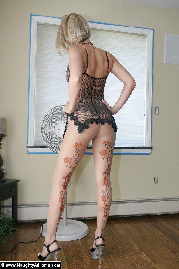 Pattern pantyhose pics – Naughty at Home – Desirae Spencer
