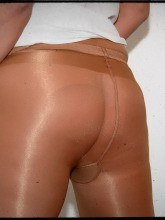 White shiny pantyhose pics from Jess Legs Net