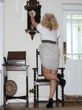 Nylon Sue pictures - Vintage girdle queen