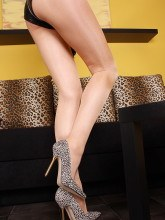 Legs in shiny pantyhose pictures gallery
