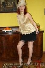 Sexy legs encased in glossy nylon – Vixen Nylons