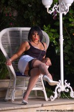 Amanda Nylons pictures – Hot mature german nylon fetish lady