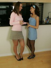 Girdle girls pictures Minnie and Mary free gallery