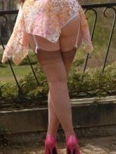 German stockings fetish amateur Nylon Angel Lovette