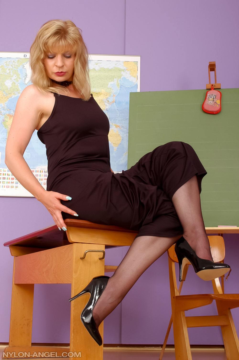 Stockings Blonde Wife Bbc